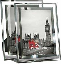Giftgarden Bilderrahmen 13x18 Glas Hochzeit