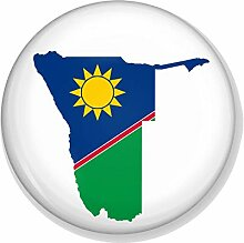 Gifts & Gadgets Co. Untersetzer mit Namibia-Flagge