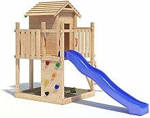 Gigantico Spielturm Kletterturm Baumhaus Rutsche Schaukeln (ohne Schaukelanbau)