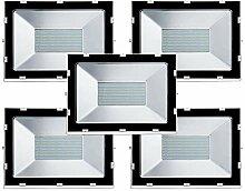 Gighlofe 5 PCS 200W LED Fluter Scheinwerfer