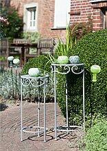 Gilde 1 x Gartenstecker m. Teelichthalter Vetro