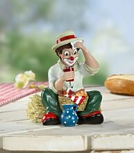 Gilde Clown 'Sommerpause', 11 cm,