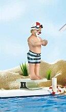 Gilde Clown Beach-Party Wassersportler