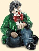 GILDE Clown Clown mit Marienkäfer, grüne Jacke