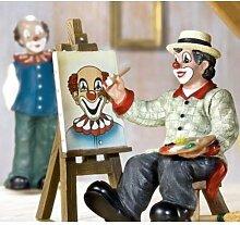 Gilde Clown Der Maler mit Staffelei 11,5 cm (10195)
