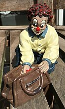 Gilde Clown Der Naseweis Clubfigur 2001 13,5 cm