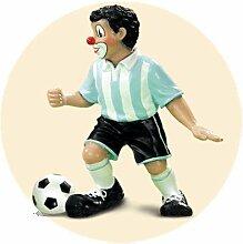 Gilde Clown Dribbler hellblau/weiß SONDERPREIS !!!