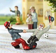 GILDE Clown Figur Karussel