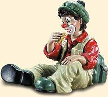 GILDE Clown Vesperclown, rotes Hemd
