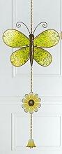 GILDE Dekohänger Schmetterling als Fensterbild,