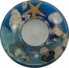 Gilde Dreamlight Ufo Mini Ocean Teelichthalter aus
