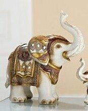 Gilde Figur Elefant byzantinisch 18 cm