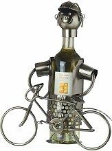 Gilde Flaschenhalter Fahrrad für Weinflaschen