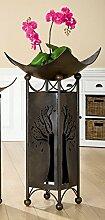 Gilde Schalenständer 'Albero', 90,5 + 49 cm, anthrazi