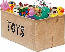Gimars 22 Zoll große Spielzeugkiste, Faltbare