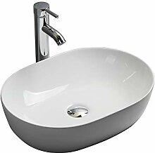 Gimify Keramik Aufsatzwaschbecken Waschschalen