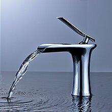 Gimili Waschbecken Wasserhahn Chrom-Finish