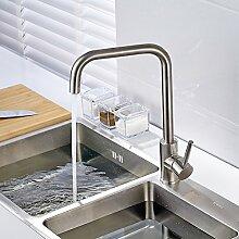 Gimili Waschbecken Wasserhahn Küche Mischbatterie Edelstahl