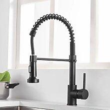 Gimili Wasserhahn Küche Schwarz Küchenarmatur
