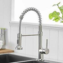 GIMILI Wasserhahn Küche Spültischarmatur