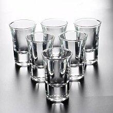 Gin Gläser Glas Set Mit Rack Mini Bullet Cup