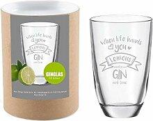 Gin-Glas When Life Hands You - Lemons Make a Gin