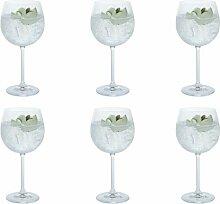Gin Party 520ml Kristall Gin Ballon Glas