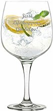Gin Tonic Glas, Ginglas Kristallglas, Cocktailglas