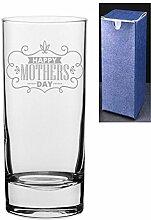 Gin Tonic Wodka-Glas mit Gravur/bedruckt, mit
