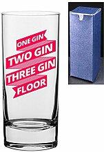 Gin- und Tonik-Glas mit Gravur und bedrucktem