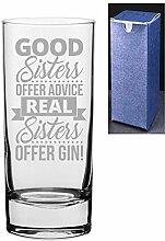 Gin- und Tonik-Vodka-Glas mit Gravur/bedrucktem