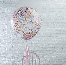 Ginger Ray Hochzeit Geburtstag XXL Luftballon