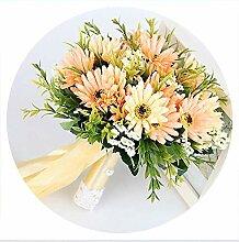 Ginsang Romantische Hochzeit Blumenstrauß für