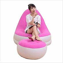 Giow Aufblasbare Liege Faul Sofa Single Air Betten