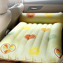Giow Auto-aufblasbares Bett mit Kissen, Reise,