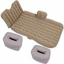 Giow Auto-aufblasbares Bett mit Rückenlehne,