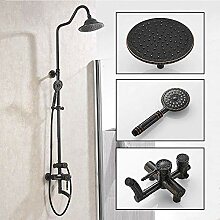 Giow Bad Dusche Wasserhahn Set, Wandmontage Antik