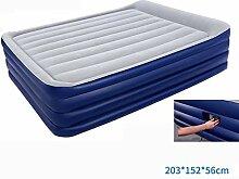 Giow Bett, doppelte Schicht, die aufblasbares