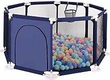 Giow Kinder 8-Panel-Spielplatz Laufstall Portable