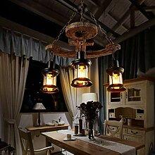 Giow LED Vintage Industrie Pendelleuchte Kreative