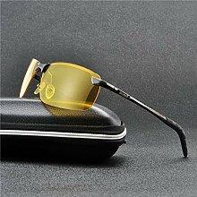 Giow Nachtsichtbrille Herren Nachtfahrbrille für