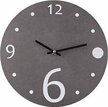 Giplar 12 Zoll (30cm) Modern Wanduhr Uhr Ohne