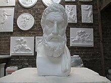 gipsnich Büste Epikur