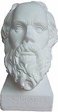 gipsnich Büste Sokrates groß