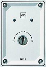 Gira 013400 Schlüsselschalter Aufputz Alarm