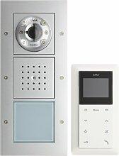 Gira 049545 Einfamilienhaus-Paket Video Reinweiß