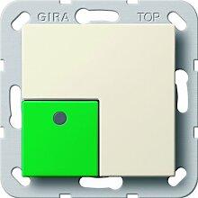 Gira 290801 Anwesenheitstaster grün System 55, cremeweiß