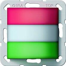 Gira 294200 Zimmersignalleuchte Rufsystem 834, rot / weiß / grün
