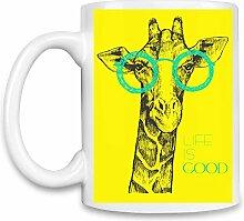 Girafe Kaffee Becher