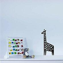 Giraffe Alphabet Wandkunst Aufkleber Für Kinder